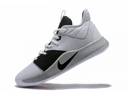 Nike PG 3 Moon White/Black-Grey AO2607-101 Men-20