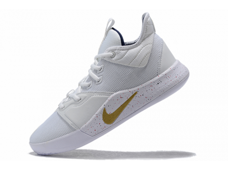 Nike PG 3 'USA' White/Metallic Gold-Midnight Navy AO2608-100 Men