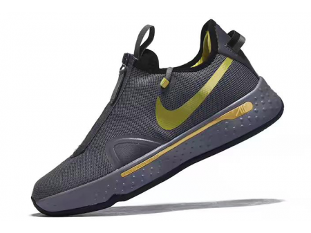 Nike PG 4 Cool Grey/Metallic Gold-Black Men-20