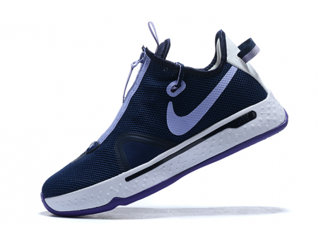 Nike PG 4 Navy Blue/White-Purple Men-20