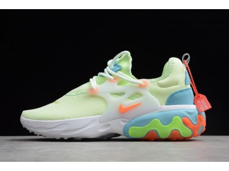 Nike Presto React Fluorescent Green/White/Blue/Orange AV2605-700 Women-20