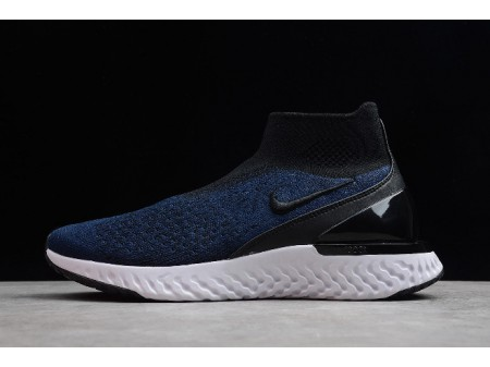 Nike Rise React Flyknit Dark Blue/White AV5554-005 Men Women-20