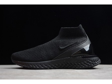 Nike Rise React Flyknit Triple Black AV5554-003 Men Women-20