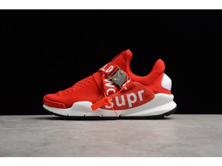 Nike Sock Dart x Supreme White Red Shoes Men Women-20