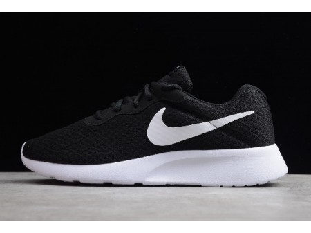 Nike Tanjun Black/White Running Shoes 812654-011 Men Women