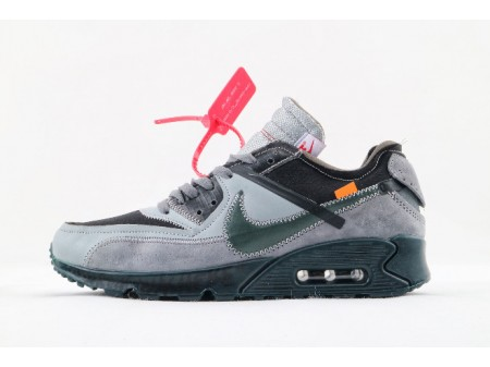 Nike The 10: Air Max 90 x Off-White AA7293-002 Men Women-20