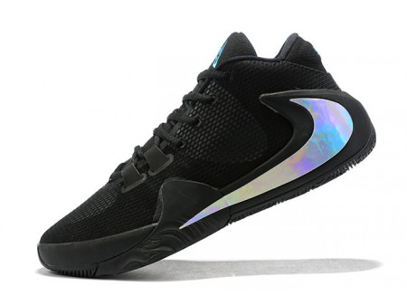 Nike Zoom Freak 1 Black/Metallic Silver Men