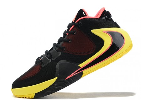 Nike Zoom Freak 1 Black/Yellow-Pink Men-20