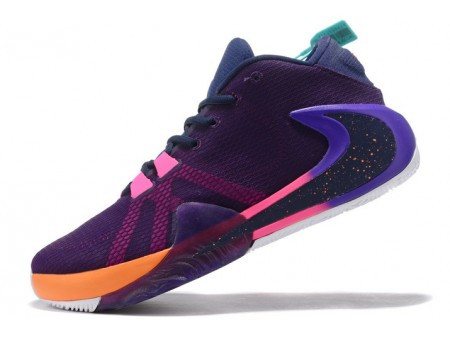 Nike Zoom Greek Freak 1 Purple/Pink-Orange Men-20