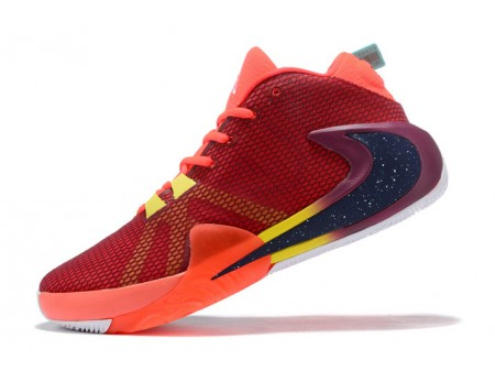 Nike Zoom Greek Freak 1 Red/Navy Blue-Yellow Men-20