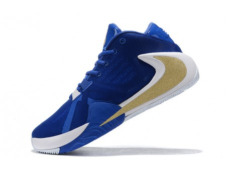 Nike Zoom Greek Freak 1 Royal Blue/White-Metallic Gold Men-20