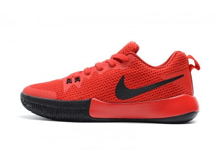 Nike Zoom Live II EP University Red/Black Basketball Shoes Men