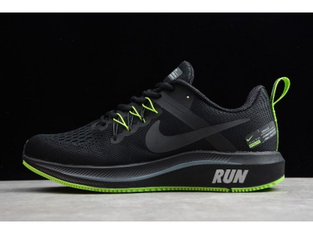 Nike Zoom Structure+ 15 Black/Green 615588-007 Men-20