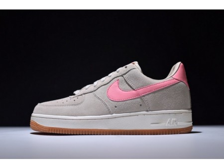 Nike Air Force 1 Af1 Seasonal Oatmeal Bright Melon Sail 818594-100 for Women