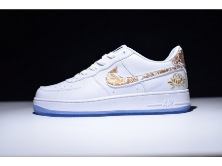 Nike Air Force 1 Low Premium Lunar New Year Id White 919729-992 for Men and Women