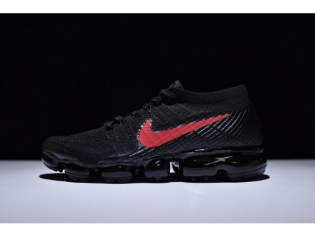 Nike Air Vapormax Flyknit Black and University Red 849558-006 for Men and Women-20