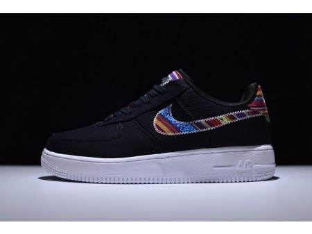 Nike Air Force 1 07 Lv8 Black 823511-029 for Men and Women