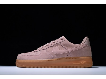 Nike Air Force 1 Lv8 Suede Particle Pink AA1117-600 for Men and Women