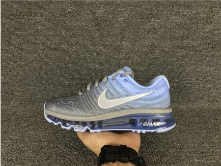 Nike Air Max 2017 Grey/Blue 849560-002 for Women-20