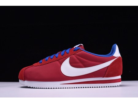 Nike Classic Cortez Oxford Cloth Gym Red 488291-615 for Men and Women