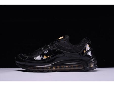 Nike Air Max 98 Black Yellow 640744-080 for Men-20