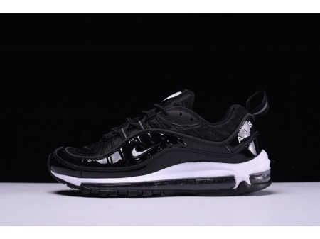 "Nike Air Max 98 ""Black White"" 640744-010 for Men and Women-20"