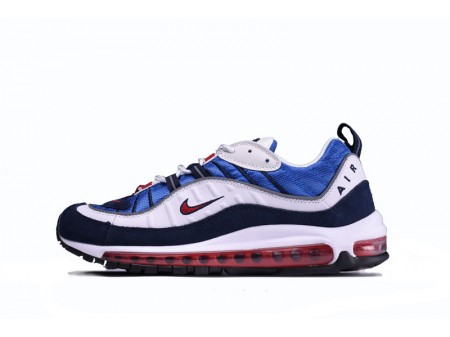 "Nike Air Max 98 ""Blue White Red"" 640744-064 for Men-20"