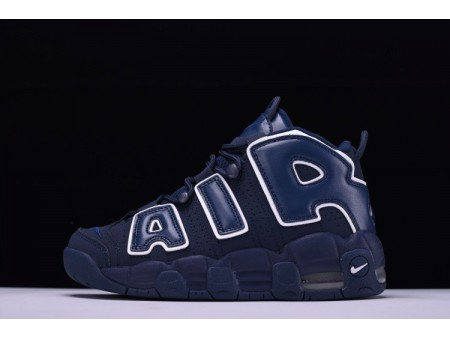 Nike Air More Uptempo QS AIR Navy Obsidian 921948-400 for Men and Women-20