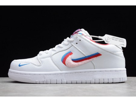 Parra x Nike SB Dunk Low Layered Swoosh White/Multi-Colour CN4504-100 Men Women-20