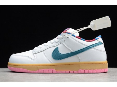 Parra x Nike SB Dunk Low White/Blue-Pink CN4504-108 Men Women-20