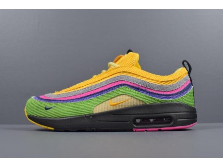 Sean Wotherspoons Nike Air Max 1/97 VF SW Eclipse Custom AJ4219-407 Men Women-20