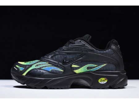 Supreme x Nike Zoom Streak Spectrum Plus Black/White-Volt AQ1279-001 Men Women-20