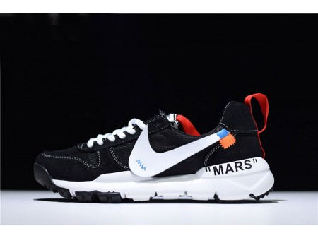 Virgil Abloh Off-White x Nike Mars Yard 2.0 Black/White Men Women-20