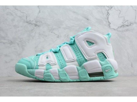 WMNS Nike Air More Uptempo GS 'Island Green' 415082-300 Women