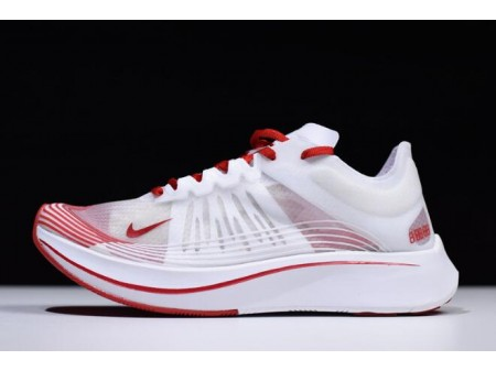 WMNS Nike Zoom Fly SP White/University Red-Summit White AJ8229-100 Women-20