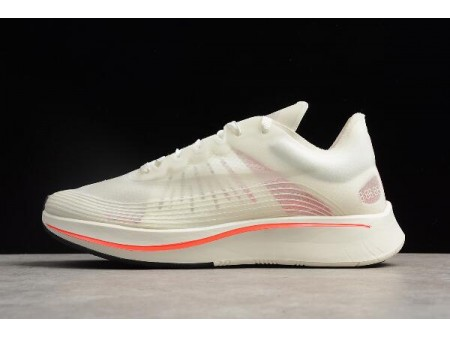 WMNS Nikelab Zoom Fly SP Breaking2 White/Sail-Bright Crimson AA3172-100 Women-20