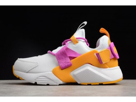 Nike Air Huarache City Low Fuschia/White AH6804-102 Women-20