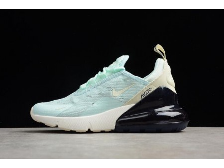Nike Air Max 270 Mint Green/Black-White Running Shoes AH6789-117 Women-20