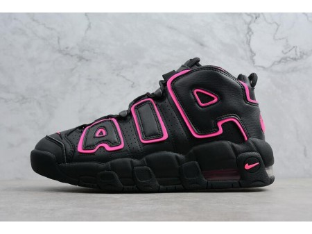 Nike Air More Uptempo GS 'Hyper Pink' Black/Hyper Pink 415082-003 Women