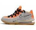 Nike LeBron 17 Low 'Safari' Kumquat/Black Men