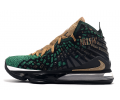 Nike LeBron 17 SVSM PE Forest Green/Black-Gold Men
