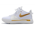 Nike PG 4 White/Metallic Gold Men