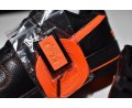 """Nike Air Force 1 07 Low VLONE ComplexCon Exclusive """"Black Orange"""" 815771-991 for Men and Women-00"""