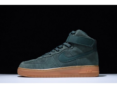 "Nike Air Force 1 High 07 LV8 Wildleder ""Vintage Grün Gum"" AA1118-300 für Herren-31"