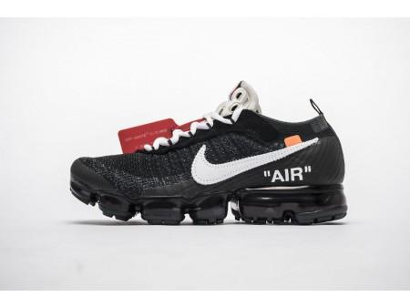 OW Gebrochenes Weiß x Nike Air VaporMax AA3831-001 Alle schwarzen Herren Damen-20