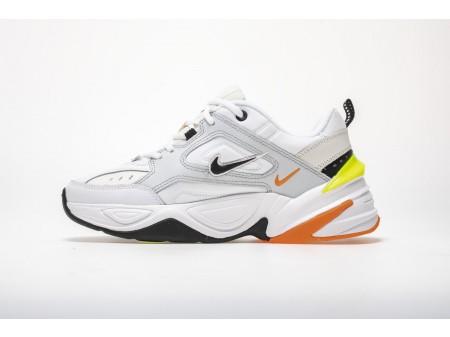 Nike M2K Tekno Reines Platin Volt Orange AV4789-004 Herren Damen-20
