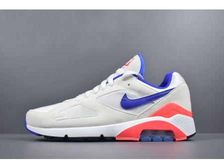 Nike Air Max 180 OG 'Ultramarin' Weiß/Ultramarin-Solar Rot 615287-100 Herren Damen