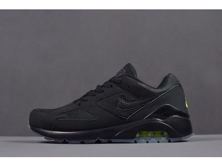 Nike Air Max 180 'Schwarz/Volt' Läuferschuhe AQ6104-001 Herren