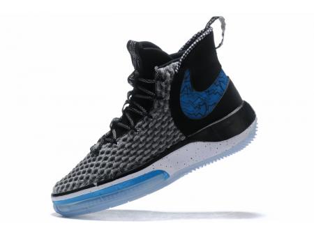 Nike AlphaDunk Schwarz/Weiß-Königsblau Herren