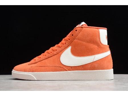 Nike Blazer Mid '77 Wildleder Vintage Rot/Weiß 917862-800 Herren Damen